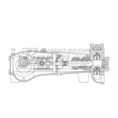 7206-0365-00B Шток удлененный для насоса Аплекс SC-45L (Aplex)