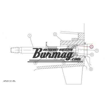 7206-0384-00A  Держатель поршня для насоса Аплекс SC-45L (Aplex)