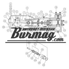 KA-285-350 Цилиндр (Хром:3.5 inch) Kerr Pumps