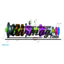 Пластина клапана (valve plate) Poclain Hydraulics