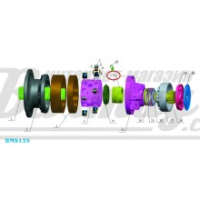 Распределитель (distributior) Poclain Hydraulics