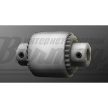 Зубчатая муфта (бочкообразный зуб) Bowex Junior М-14 (KTR)