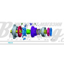 Тормозной цилиндр (breke cylinder) Poclain Hydraulics