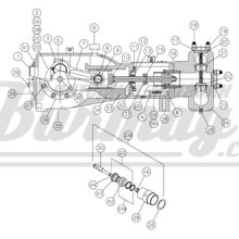 KA-265 Шток поршня (Kerr Pumps)