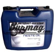 325320 Гидравлическое  масло NESTE HYDRAULI 46 SUPER(20л)