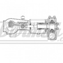 7201-0732-00A  Ремкомплект поршня SC-230