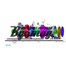 Передняя крышка (front cover) Poclain Hydraulics