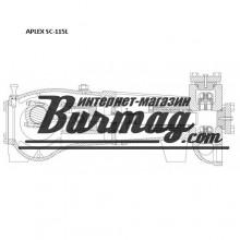 7203-0160-00K  Вставка(2шт) для бурового насоса Аплекс SC-115L (Aplex)