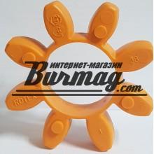 020381000045 ROTEX 38 Зубчатый венец 92 Sh A T-PUR оранжевый