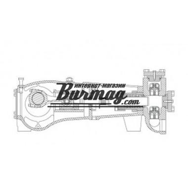 7206-0276-00K  Блок клапанов(корпус)  насоса Аплекс SC-45L (Aplex)