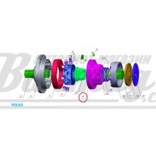 Задняя крышка (rear cover) Poclain Hydraulics
