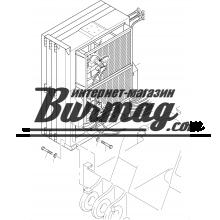 Воздушные маслоохладители KTR типа ОАС 600 (2000)  (400V / 490V) 7.5 kw.