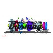 Втулка (bushing) Poclain Hydraulics