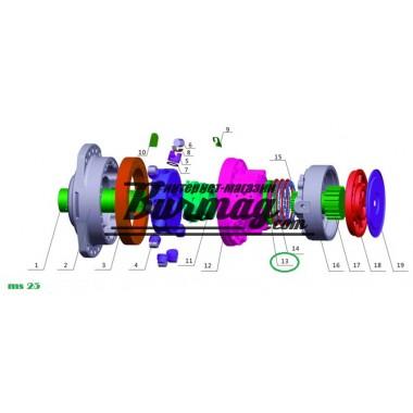 Регулировочная проставка (adjusting chim) Poclain Hydraulics