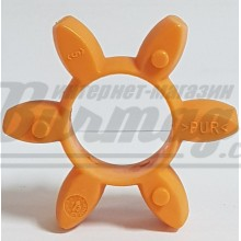 020281000045 Rotex 28 Зубчатый венец 92 Sh A T-PUR оранжевый