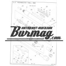 100-079 Набор инструмента буровой головки Rockmaster 5